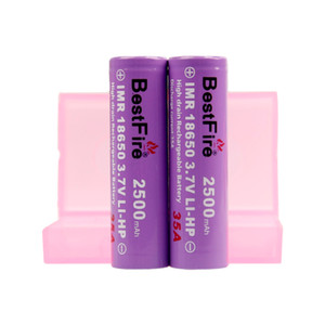 AUTHENTIC BESTFIRE BMR 3500MAH 40A 18650 Battery Purple Color Rechargeable Lithium Vape Battery Max Discharge 40A VAPE MOD BATTERY