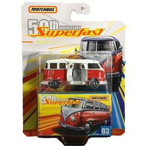 Matchbox super rápido Edição metal Diecast Model Car Toys Range Rover PORSCHE 911 BENZ G63 VOLVO 50º aniversário da Collector