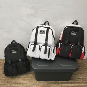 Man Backpack Large Capacity High School College Students Backpack Travel Bag Multiple Pockets Lovers Bag