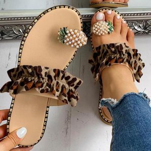 Mujer Sandals Women Girls Pearl Flat Bohemian Style Casual Sandals Slippers Beach Shoes Flat Flip Flops String Bead Summer 2020