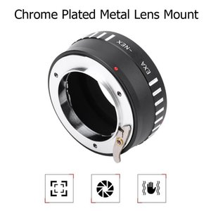 EXA-NEX Lens Adapter Mount Ring Manual Focus for EXA Mount Lens to NEX Mirrorless Cameras extension tubes