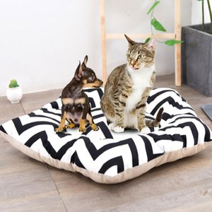 11 Styles Foldable Linen Pet Dog House Kennels Washable Portable Tent Puppy Cat Indoor Outdoor Teepee Mat Dog Supplies Gifts