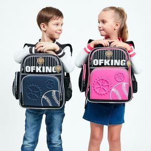 New Bags for Boys Girls Orthopedic Kids Schoolbag Children EVA waterproof School Backpacks Primary Backpack mochila