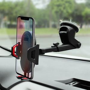 Auto Holder Dashboard Mount Universale Cradle Clip Clip Clip GPS Bracket Mobile Rack per navigazione Multifunzionale