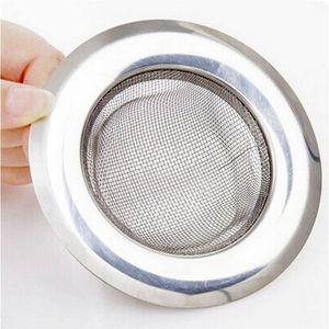 2020 New Stainless Steel Bathtub Hair Catcher Stopper Shower Drain Hole Filter Trap Kitchen Metal Sink Strainer