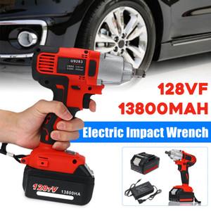 128VF 13800mAh multifonctions Clé électrique batterie électrique à vitesse variable Infiniment Clé à chocs Travail du bois Y200323