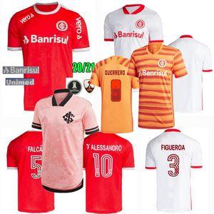 2020 2021 SC 인터내셔널 축구 유니폼 인터내셔널 D' 알레산드로 게레로 프 락세 데스 홈 떨어져 3 20 명 21 축구 남성과 여성 셔츠