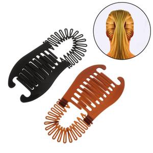 1PC Woman Elastics Hair Braider Banana Clip Scorpion Type Hair Holding Tool Ponytail Rubber Bands Hair Accessories Hot