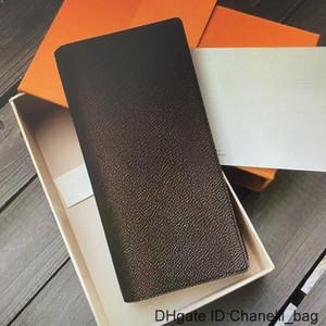 M66540 BRAZZA Men Long WALLET Leather Canvas Credit Card Holder Women Wallets Female Fashion Casual Man Clutch Pocket Purse N62665