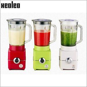 Xeoleo 1.5L blender 500W machine 220V Blender for Juice Ice Meat Juice mixer 3 speeds Glass cup ice sand machine1