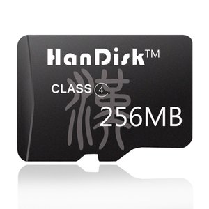 HanDisk Mini Sd card 256MB Micro SD TF Card Real Capacity small Storage for company 3 year warranty