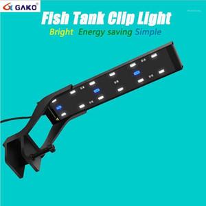 8W Aluminium Alloy Ultra-thin 5730 SMD LED Beads Clip Light Aquarium Lamp For Fish Tank1