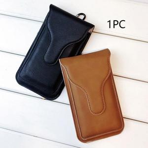 Moda resistente all'usura casi protettiva custodia in pelle artificiale custodia per cinghia portafoglio cinghia cintura cintura borsa gancio loop1
