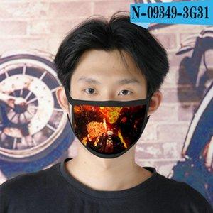 Naruto For Tapabocas Sex Face 13 Mask Naruto Face Sex Men Cubrebocas Cartoon Reusable Designer Mask sqcHd homes2007