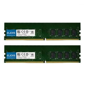 Elicks DDR4 RAM 4GB 8GB 16GB 32GB 2133MHZ 2400MHZ 2666V PC4-17000MHZ 19200MHZ 2666V Desktop DIMM memory RAM CL17 1.2V voltage1