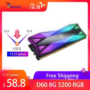 ADATA XPG D60 RGB PC Desktop Memory RAM Memoria Module 8GB16GB 2X8GB DDR4 PC4 3200Mhz 3000MHZ 2666MHZ DIMM 2666 3000 3600 MHZ1