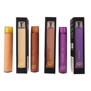 준비로 배송 퍼프 vape 일회용 증기 키트 2000 퍼프 기화기 1200MAH 일회용 vape 펜 전자 담배 퍼프 최대