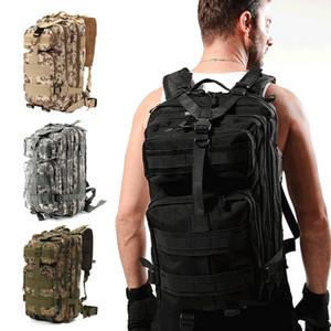Tactical Outdoor Backpack 1000D Nylon 30L saco impermeável Sports Rucksacks Exército para Camping Caminhadas Caça Sacos