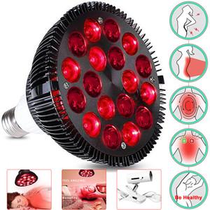 Rotlicht-Therapie-Lampe 18 / 54W LED-Infrarot-Licht-Therapiegerät 660nm 850nm Infrarot-Combo für Hautpflege Schmerzlinderung Gesundheitswesen