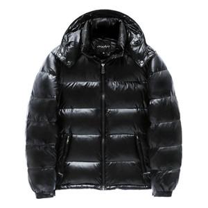 Monclair inverno inverno uomo giacca cappotto casual casual autunno con cappuccio mens short short down piumino bianco anatra giù parka maschio lucido fashio