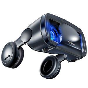 2020 Pro 3D VR VR VR Verres Virtual Reality Full Screen Visual Angle VR Verres VR Box pour 5 à 7 pouces Smartphone Lunettes de vue