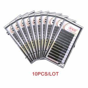 NEWCOME 10PCS individuelle soie Cils Tous Taille Cils Extensions Mink Extension Maquiagem cilios Pour professionnel