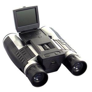 Digital Binocolo Telescope Camera LCD Display Video Foto Recorder per il bird watching Football Game EM88 Concerto