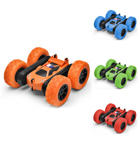 RC Cars Stunt Car Toy, Remote Control Kids Toy Car, 2.4GHz Double Sided Rotating 360°Flips Vehicles, Toys Gifts for Kids Boys Girls