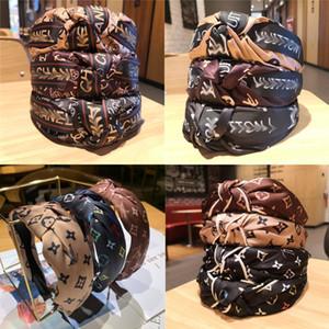 Diseñador de la joyería de la venda de Hairbands para las mujeres de pelo Accesorios de Moda anudada horquilla Costado cuatro estilos de mayor multicolor