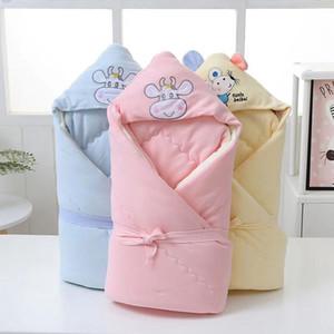 NOUVEAU PRODUIT Couverture bébé Vente chaude nouveau-né Couverture épaissie épaissie chaude Hiver Couverture de bébé Cotton Baby Sac de couchage