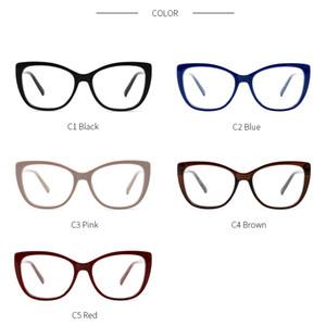 Очки-Transparent Женщины очки рамки объектива ретро дамы Cat Eye Glasses Урожай Близорукость очки кадр очки # OR011