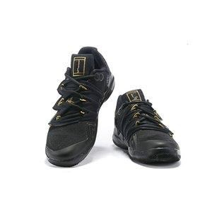 Schwarz Großhandel New 5 v 5s Blau Orange Mann-Basketball-Schuhe Sportschuhe Outdoor-Trainer Qualität Größe 7-124qk1