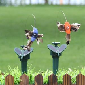 Солнечная мощность танцы летающие бабочки развевающиеся вибрации муха колеинки летающие птицы садовые дворы украшения смешные игрушки DBC B 10 G2