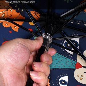 Зонт дождь Саншайн ветрозащитный Зонтики 3 Складной мини Зонтик Леди Мода женщин Портативный девочка Зонтик подарков bbyyaf garden2010