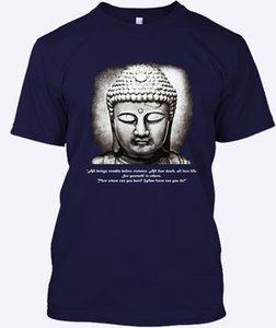Cita de Buda pantalla de impresión Vegetariana Corto Moda 2018 Dftaocah 1 Sport Sudadera con capucha camiseta