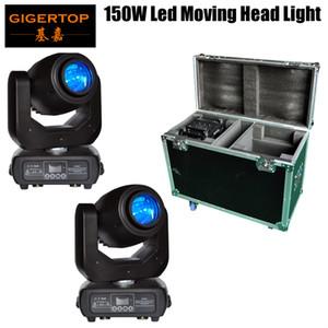 Employable 2in1 Estrada Estrada 150W LED Movendo Cabeça Luz DMX DJ Club Disco Fase Festa Iluminação EU / AU / UE Plug Power 5 Pin Soquete Sem Fio