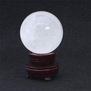 Atacado decorações Sphere Cura Para Natural Venda Bola / yh_pack clara Sphere Gemstone 606g Cristal HJT pequeno cristal Início Limpar bbysL