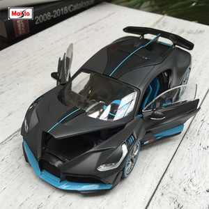 Maisto 1:24 Bugatti Divo Roadster simulation alloy car model collection gift toy