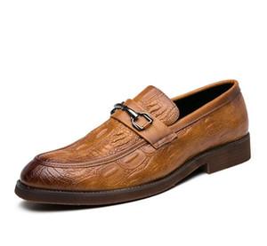 2020 Hot sales mens shoes men dress shoes Horsebit stylist men luxury loafers