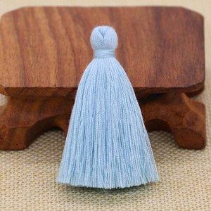 50 pz 5 cm poliestere cotone nappa frangia pendente craft fai da te piccolo nappa indumenti tende decorazione orecchini gioielli componenti h bbyjpl