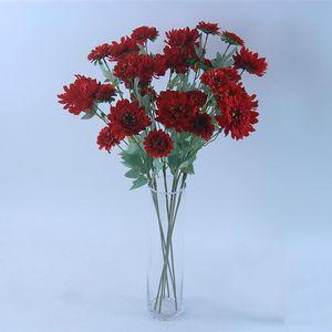 High-quality Imitation Cinerarta Desktop Decoration Craft Imitation Flowers Silk Flower Handmade Flower Artificial