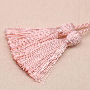 5 unids 54cm Cinta de la cuerda Dos Tasseles Larga DIY Craft Ropa Accesorios Decoración Fringe Trim Casa Textil Cortina Tassels Colgante H BBYGIP