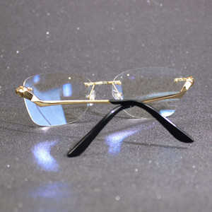 Fingerabdruck Carter Glass Rahmen für Neukollektion einzigartige Designerbrille lesen Computer Luxus Frauen Gafas Damen