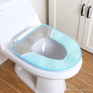 Bathroom Home Toilet Seat Cover Warm Soft Washable Mat Home Decor Closestool Mat Seat Case Toilet Lid Cover Accessories