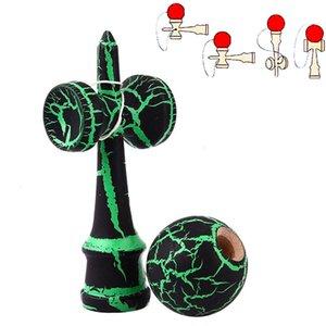Crackle Crackle Wood Education Traditionnel Japonais Japonais Kendama Ball En plein air Accessoires