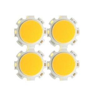 300mA Cob Led leve quadrado Chip alta -Power Bead Warm White 11 milímetros / 20 mm de diâmetro luminosa de superfície, Outer Diâmetro 13 milímetros * 13 milímetros 28 * 28 milímetros Crestec