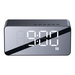 New portable mini active mini audio studio wireless bluetooth speaker bluetooth alarm clock speaker combo card with radio