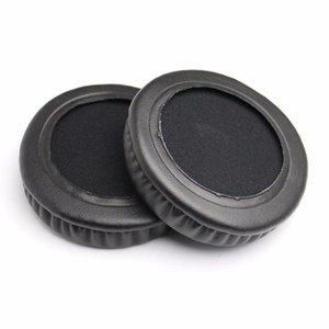80mm Leder Foam Ear Pads für Kopfhörer Cojines Almofada Almofadas Pad Kopfhörer Ohrpäckchen Kissen Ersatz Ohrpads Qylrcs
