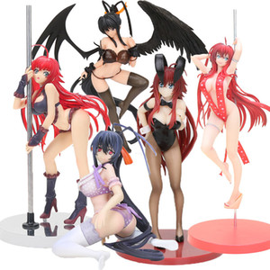 Anime High School DXD Action Figure Bunny Girls Rias Gremory Himejima Akeno Maillot de bain Ver. 1/12 échelle PVC Figure Model Toy 1008