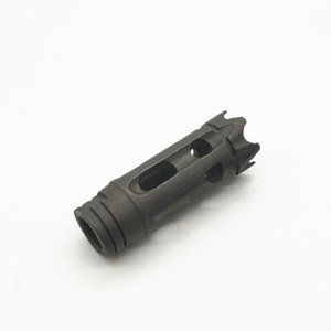 Steel competion flash hider muzzle brake 1 2-28 5 8-24 with washer